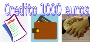 crédito 1000 euros
