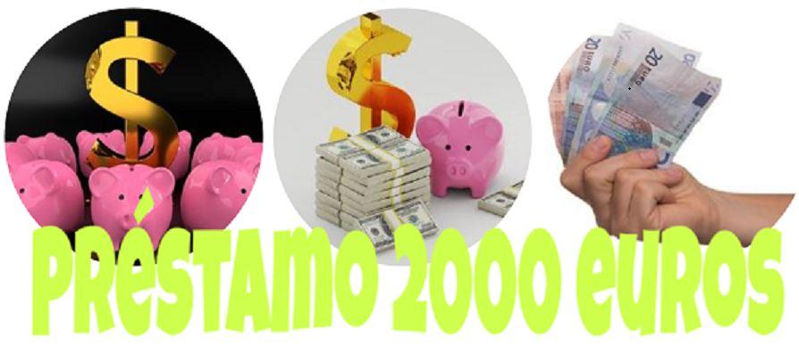 prestamo 2000 euros