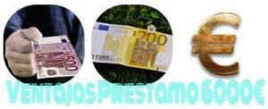 prestamo de 6000 euros a cinco años