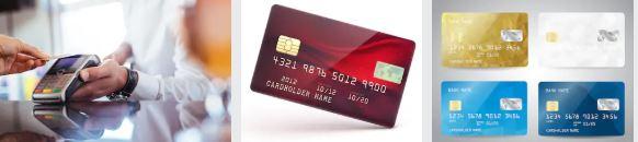 partes de una tarjeta de credito